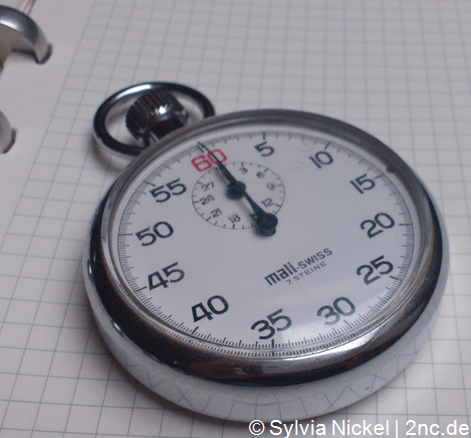 1-Minuten-Pause (c) Sylvia Nickel | 2nc.de