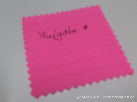 Singletasking (c) Sylvia Nickel | KarriereNachMass.de